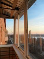 """Крыша на балкон, лоджию /ижевск/ - """"экспресс монтаж""""."""